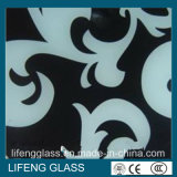 Home alla moda Appliance Tempered Glass con Silkscreen Print