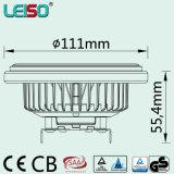 Formato dell'alogeno 1000lm TUV/GS, lampadina della PANNOCCHIA LED AR111 di contabilità elettromagnetica 15W (l)