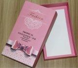 Cadre de empaquetage de papier estampé de carton blanc pour des chaussettes