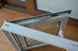 Guichet en aluminium enduit de tissu pour rideaux de profil de la poudre Kz273