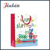 Оптовые дешевые бумажные напечатанные с днем рождения мешки подарка 4c