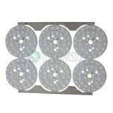 Tarjeta de aluminio de la asamblea LED del PWB para la luz del LED