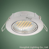 IP23 fundió el aluminio a troquel MR16 ajustable GU10 Downlight ahuecado LED