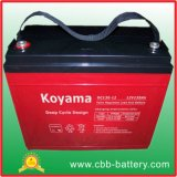 12V 135ah tiefe Schleife AGM-Batterie für Notbeleuchtung u. Solar