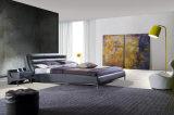 Base de cuero adulta moderna del diseño simple para el dormitorio (HC292)
