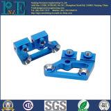 Aangepast Staal CNC die de Componenten van het Plateren van het Zink machinaal bewerkt