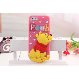 iPhone 4G/5gのためのカスタマイズされた3D Cute Soft Cartoon Silicon Phone Case