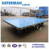 8t 평상형 트레일러 화물 수송기 산업 견인봉 트레일러