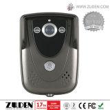 Teléfono video de la puerta del chalet del color de 9 pulgadas con la tarjeta de RFID