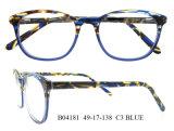 Lunetterie bon marché de forme ronde de monture de lunettes des plus défunts d'oeil bâtis modèles en verre