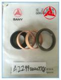 Jogos de reparo Sy220c do selo da máquina escavadora. 2.8-F no. 60018971 para o tensor 230-41-20000 da trilha da máquina escavadora de Sany