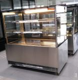 2 Schicht Angle Shape Cake Showcase für Bakery Shop /Coffee Bar