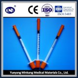 Medizinische Wegwerfinsulin-Spritze, mit Nadel (0.3ml), mit Ce&ISO genehmigte