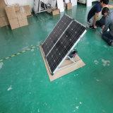 Panneau se pliant solaire monocristallin pour l'usage de station