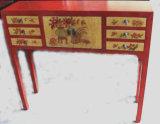중국 골동 가구 측 테이블