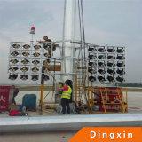 iluminação elevada do mastro do diodo emissor de luz de 15m 18m 20m 21m 25m 28m 30m 35m usada para Plazza
