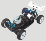 RC Nitro Car 1 / 8th Scale 4WD Gas powered High Speed ​​RC Hobby off Road Truggy