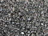 중국은 까만 강 자갈 돌을 닦았다