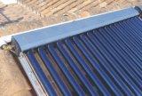 Colector solar de la pipa de calor
