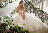 Mori Lee Morilee Satin-Tulle-Schatz-Isolationsschlauch-Brücke-Hochzeits-Kleid (Dream-100044)