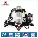Instrumento de respiração independente 5L & 6L & 6.8L do cilindro composto do carbono Scba