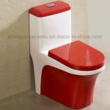 Цельная керамическая планка туалета цвета туалета (A-031)