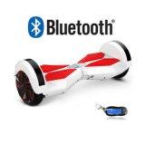 Nieuwe Aankomst Één PCs 8 Duim Twee de Zelf In evenwicht brengende Slimme Elektrische Autoped van Wielen hangt Raad voor Volwassene met Bluetooth