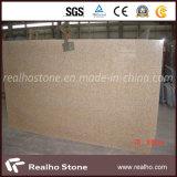 Grande dalle de granit chinoise rouillée jaune G682 pour comptoirs de cuisine