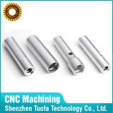 Hoge Precisie CNC die de Gidsen Parts/Valve machinaal bewerken van het Aluminium Parts/Turning