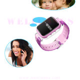 Relógio esperto Anti-Perdido Bluetooth do silicone da conexão de WiFi Wearable para miúdos