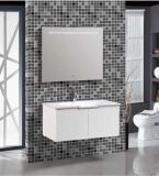 Nuovo PVC White Bathroom Vanity di Wall Mounted con Mirror