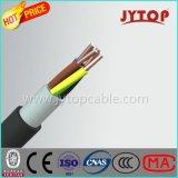 Fiação do cabo com o GTS isolado PVC 7/29 Wite de cobre do cabo da energia