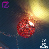 Indicatore luminoso della stringa di natale, indicatore luminoso della stringa della decorazione del LED
