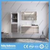 Cabina de almacenaje moderna de madera abierta del cuarto de baño de la novela multi moderna (BF150D)