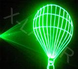 [إيلدا] خضراء إحياء ليزر مع [سد] لأنّ علامة تجاريّة خارجيّ, نص, يعلن مسلاط