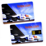 Lecteur flash USB chaud de Selling Credit Card avec Customized Full Color Printing
