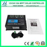 30A MPPT Solarregler 12 / 24V Selbstsolarladeregler (QW-MT30A)