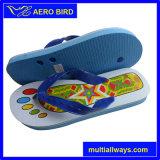 Pattini del sandalo del pistone di stile casuale del PVC con la stampa dell'elefante