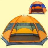 3 شخص [فيبرغلسّ] أسرة يخيّم قبة شاطئ خيمة لأنّ يسافر