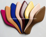 Artificial Leather Printing를 가진 숙녀 Shoe Soles