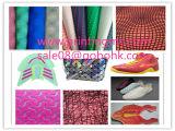 Macchina di formatura del coperchio del reticolo di Kpu dello strato del tessuto per l'indumento, i sacchetti, la mascherina di calzatura ecc