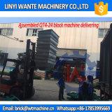 Wanteの機械装置Qt4-24の手動ブロックか機械価格を作る空のブロック