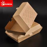 La caja de papel del acondicionamiento de los alimentos quita el alimento caliente