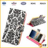 Продукты случая сотового телефона бумажника горячие продавая в Кита