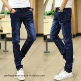 Katoenen van de Rek van de Jeans van in het groot Mensen Van uitstekende kwaliteit Slanke Broek