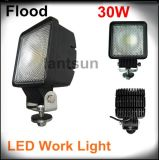 30W Square LED Work Light per Offroad 4X4