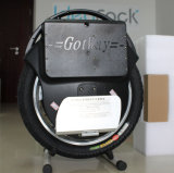 Unicycle eléctrico rueda negra de la alta calidad de Gotway de la sola