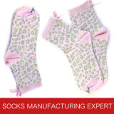 Cotton Fashion Pattern Sock der Dame