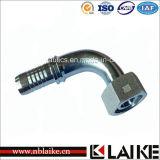(20591) garnitures de tube hydrauliques femelles métriques de 90 degrés