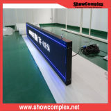 P10 Full Color LED Message Sign Update Advertizing Contents da Phone/Tablet/computer portatile